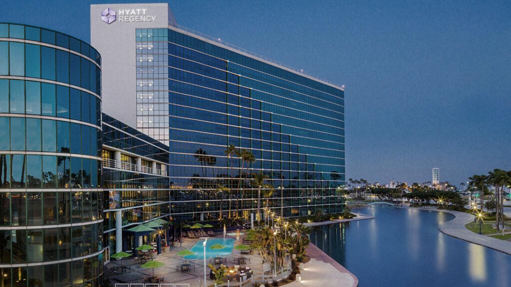 California coastal resorts market - Hyatt Regency Long Beach.