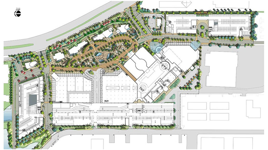 Shopping Mall Redevelopment Concepting
